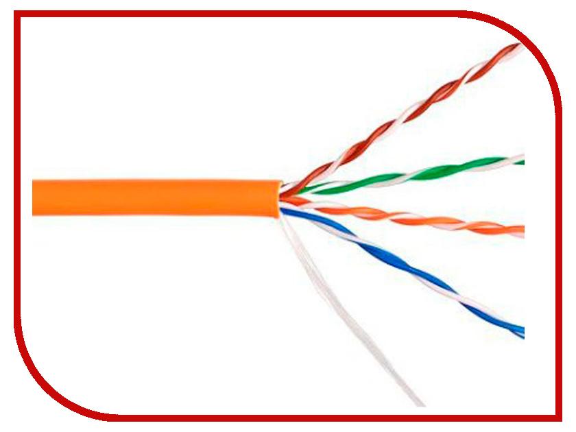 Сетевой кабель Telecom Ultra Base UTP cat.5e 305m Orange TUS44048E-OR цена