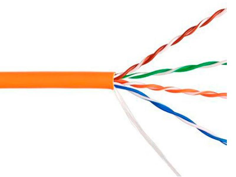 Сетевой кабель Telecom Ultra Base UTP cat.5e 305m Orange TUS44048E-OR