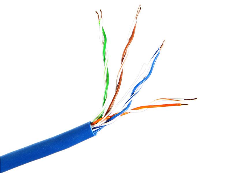 Сетевой кабель Telecom CU UTP cat.5e 305m Blue UTP4-TC1000C5EL-CU-IS-BL