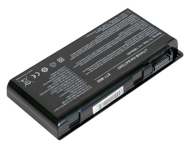 Аккумулятор RocknParts для MSI GT60/GT70/GT660/GT663/GT663R/GT670/GT680/GT680R/GT683/GT685/GT685R/GT760/GT760R/GT780/GT783/GX660/GX680/GX780 7800mAh 11.1V 455591