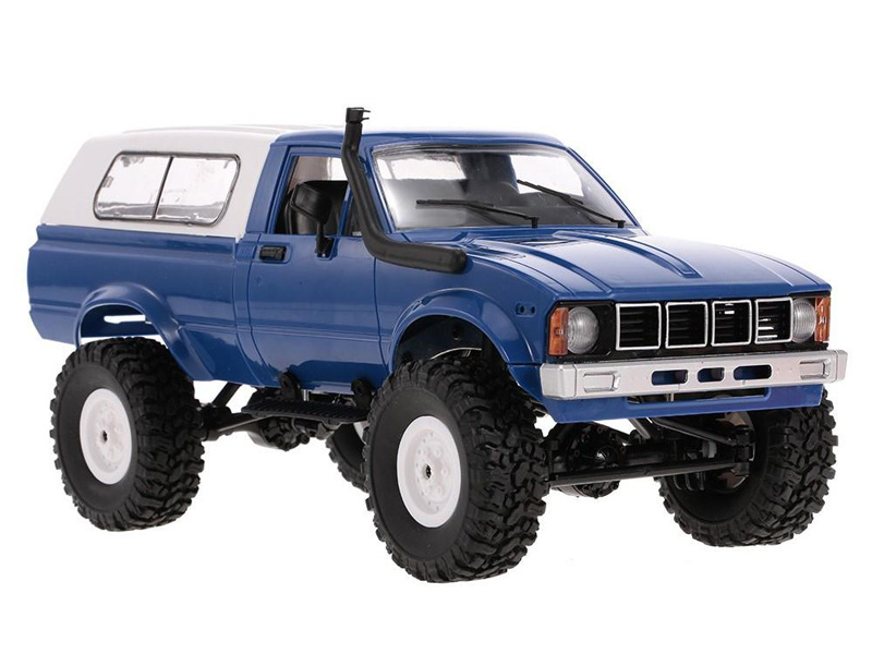 Игрушка Aosenma Military Truck Buggy Crawler RTR 4WD 1:16 Blue WPLC-24-B