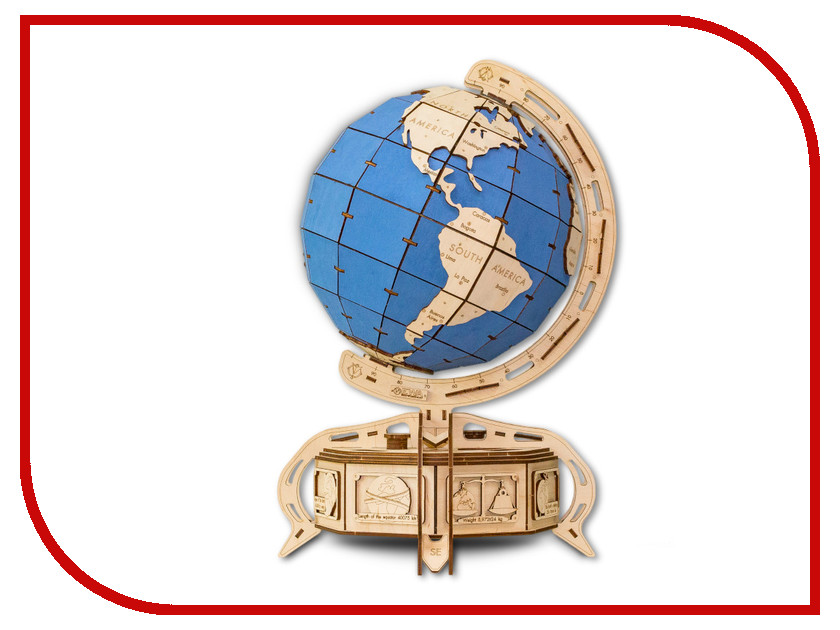 Конструктор EWA The Globe Light Blue pratchett terry globe the sod ii
