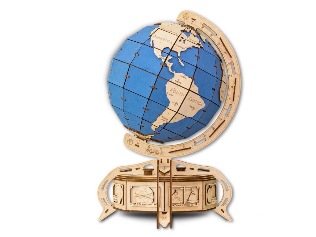 Сборная модель EWA The Globe Light Blue