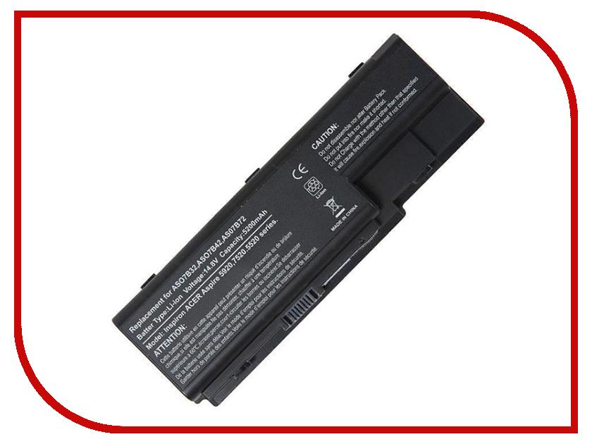 Аккумулятор RocknParts для Acer для Aspire 5520/5920/6920G/7520 5200mAh 14.8V 445573 icw50 la 3581p for acer aspire 5520 5520g motherboard la 3581p mb ak302 005 mb ak302 002 tested good free shipping