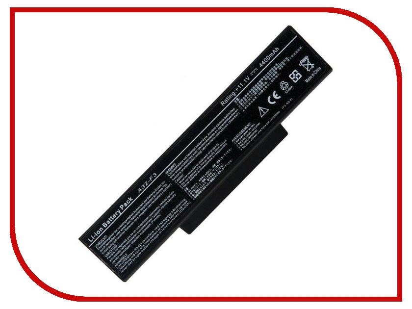 Аккумулятор RocknParts для Asus A9/F2/F3/Z53/M51 4400mAh 11.1V 445585 7 holes passenger tank grab bar handle for honda cbr600 f2 f3 f4 f4i cbr900rr cbr1000rr motor accessories gold
