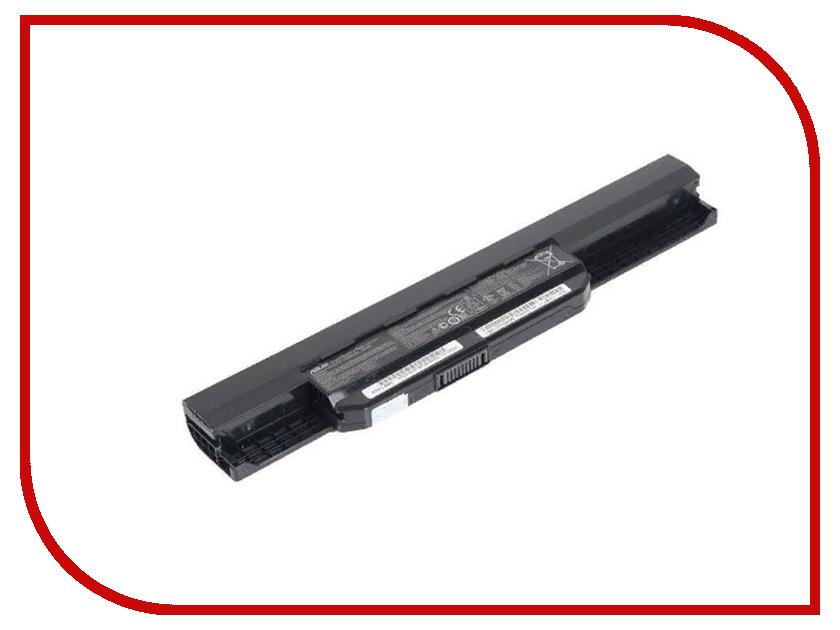 Аккумулятор RocknParts для Asus A43/A53/K43/K53/X43/X44/X53/X54 5200mAh 10.8V 338788 yuxi ac dc power jack connector plug socket for asus a52 a53 k52 k53 u52 x52 x54 x54c u52f series 2 5mm pin