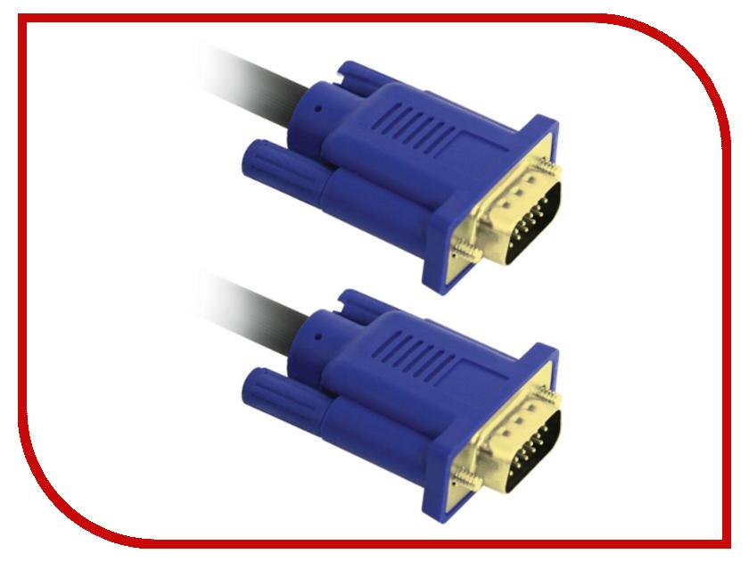 Аксессуар VCOM VGA M - VGA M 30m VVG6448-30MC 10pcs lot db15 3rows parallel vga port hdb9 15 pin d sub male solder connector metal shell cover