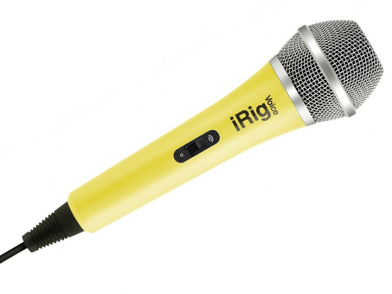 Микрофон IK Multimedia iRig Voice Yellow IP-IRIG-MICVOY-IN