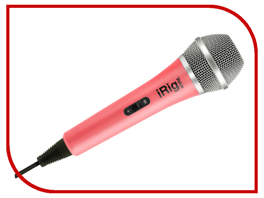 Микрофон IK Multimedia iRig Voice Pink IP-IRIG-MICVOP-IN