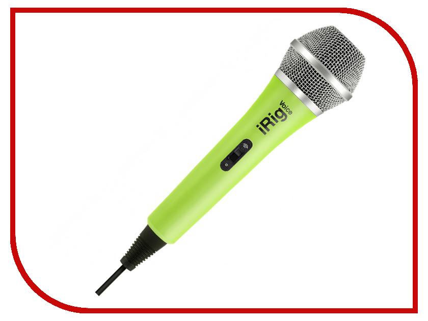 Микрофон IK Multimedia iRig Voice Green IP-IRIG-MICVOG-IN