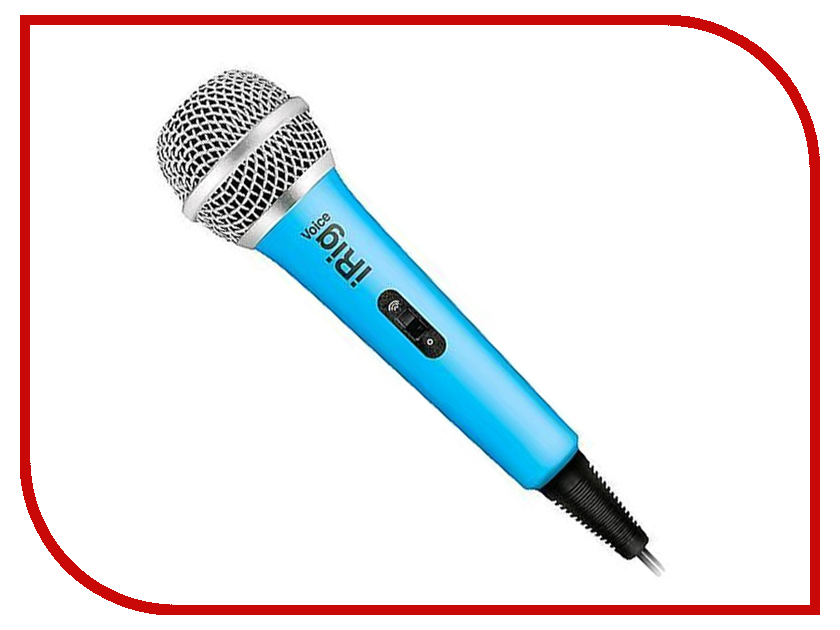 Микрофон IK Multimedia iRig Voice Blue IP-IRIG-MICVOB-IN