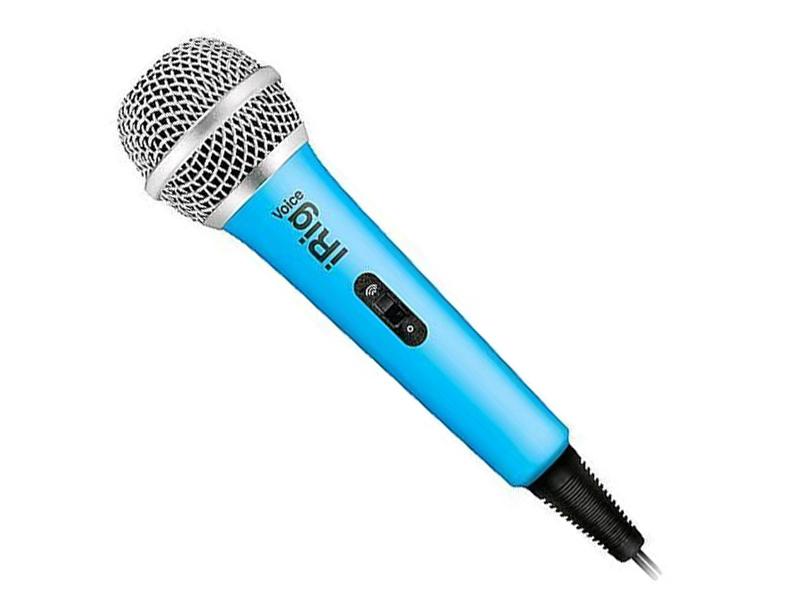 лучшая цена Микрофон IK Multimedia iRig Voice Blue IP-IRIG-MICVOB-IN