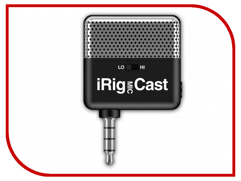 Микрофон IK Multimedia iRig Mic Cast Black IP-IRIG-CAST-IN