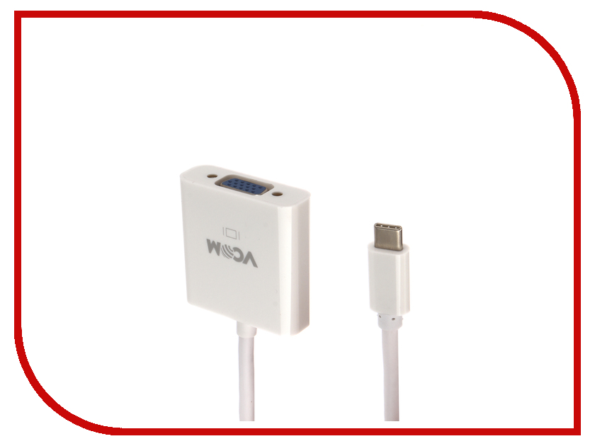 Аксессуар VCOM USB Type-C M to VGA F CU421 аксессуар vcom usb type c m to vga f cu421