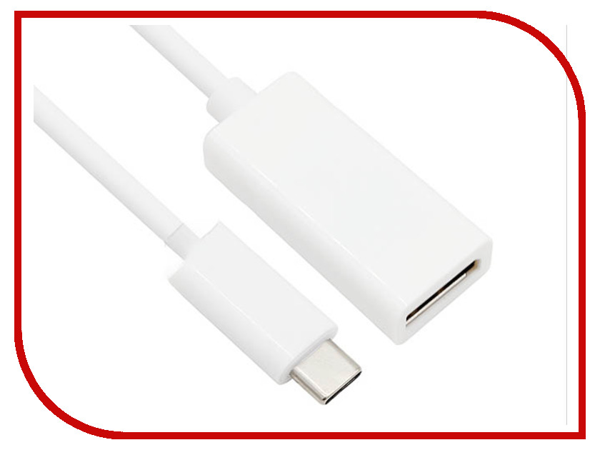 Аксессуар VCOM USB Type-C M to DisplayPort F CU422 аксессуар telecom usb type c m to vga f 0 15m tca421b