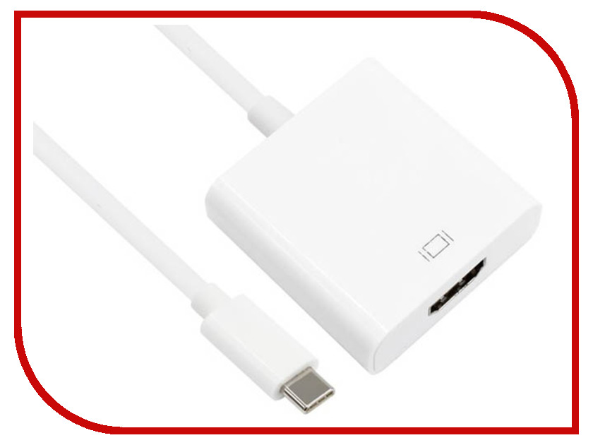Аксессуар VCOM USB Type-C M to HDMI F CU423 аксессуар vcom usb type c m to vga f cu421