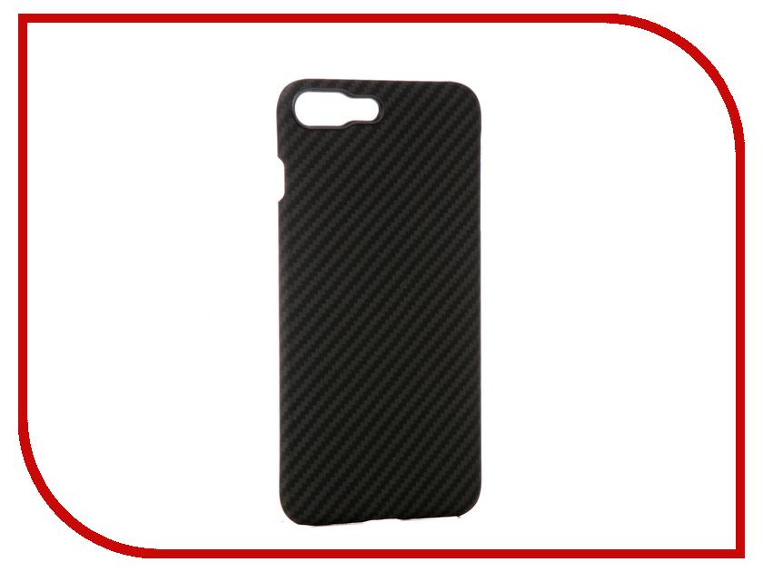 Аксессуар Чехол для APPLE iPhone 8 / 7 Plus Pitaka MagCase Black-Grey KI8001S