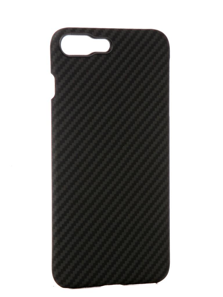 Аксессуар Чехол Pitaka для APPLE iPhone 8 / 7 Plus MagCase Black-Grey KI8001S аксессуар чехол для apple iphone x pitaka aramid case black yellow twill ki8006x