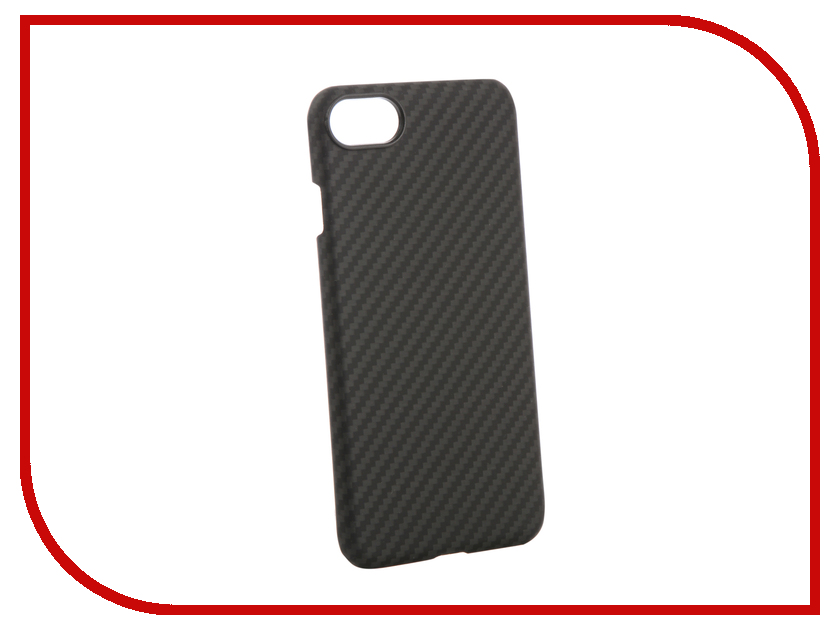 Аксессуар Чехол для APPLE iPhone 8 / 7 Pitaka MagCase Black-Grey KI8001 аксессуар чехол innovation jeans для apple iphone 7 8 white 10774