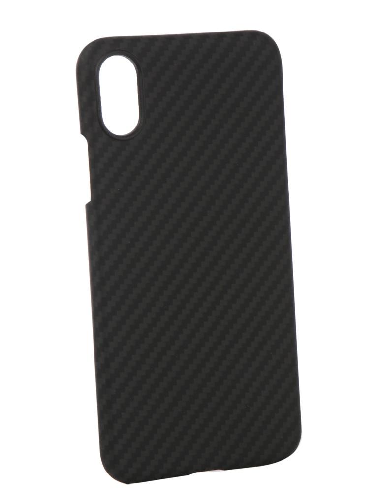 Аксессуар Чехол Pitaka для APPLE iPhone X MagCase Black-Grey KI8001X аксессуар чехол для apple iphone x pitaka aramid case black yellow twill ki8006x