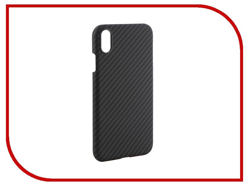 Аксессуар Чехол для APPLE iPhone XR Pitaka MagCase Black-Grey KI9001XR аксессуар