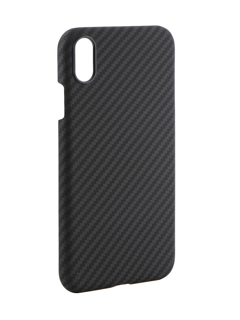 Аксессуар Чехол Pitaka для APPLE iPhone XR MagCase Black-Grey KI9001XR аксессуар чехол для apple iphone x pitaka aramid case black yellow twill ki8006x