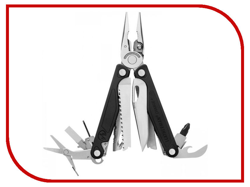 Мультитул Leatherman Charge Plus Steel-Black 832555