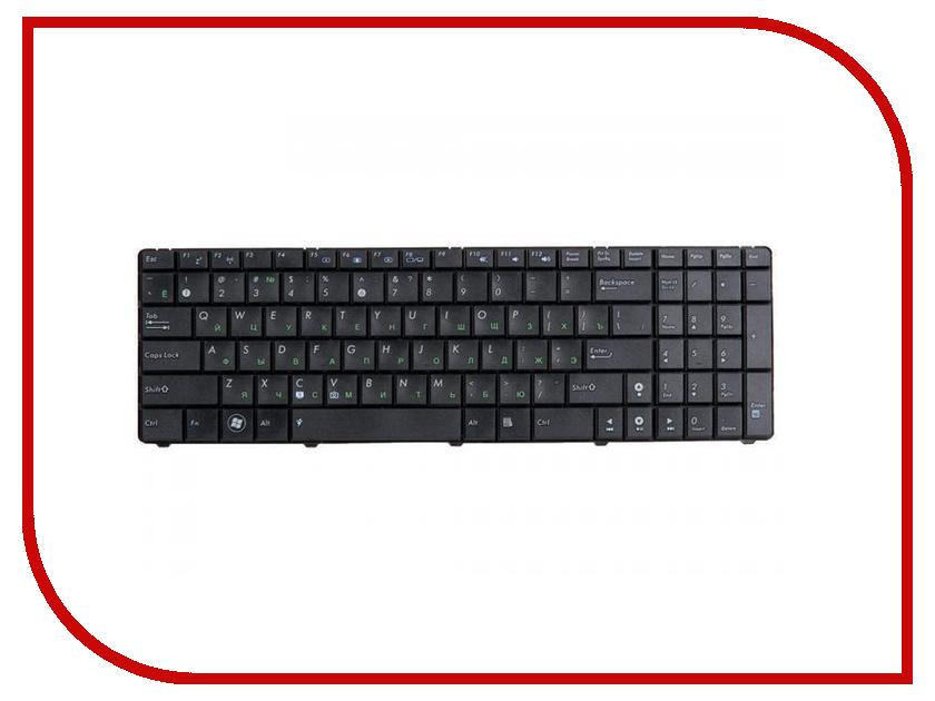 Купить Клавиатура RocknParts для Asus N50/N51/F90/K52/K70/Pro5/X61/N61/K72 Black 88454