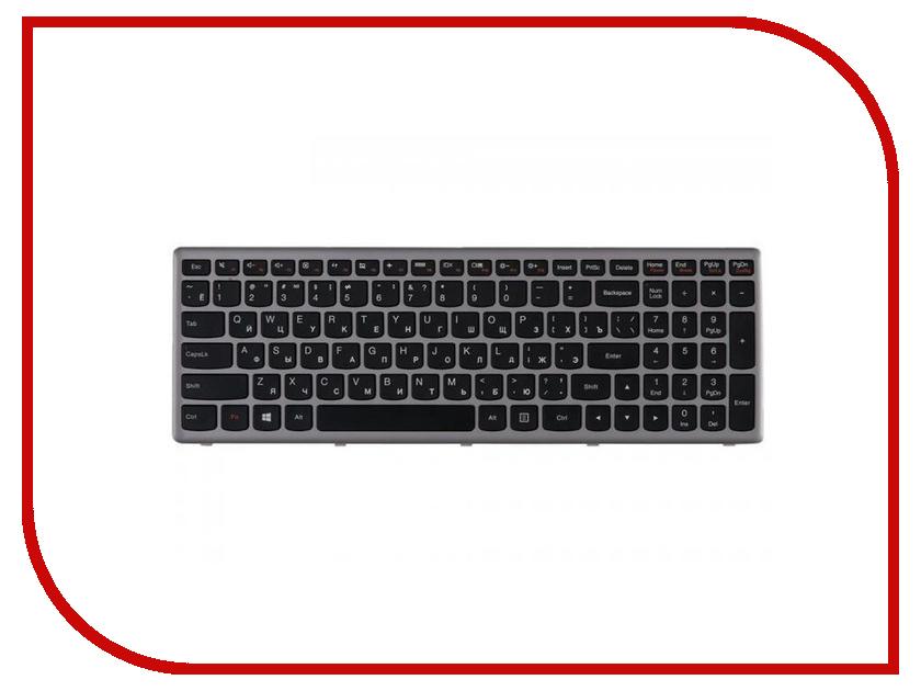 Клавиатура RocknParts для Lenovo IdeaPad Z500 Black/Grey Frame 362990 black frame grey mirror lens anti uv400 sunglasses