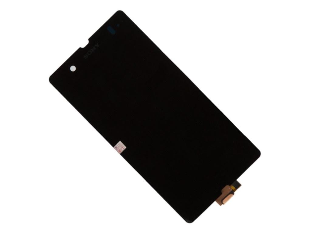 цены Дисплей Monitor для Sony Xperia Z L36h Black 1046