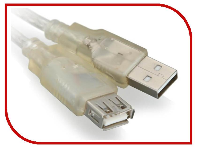 Аксессуар VCOM USB 2.0 AM-AF 5m VUS6936-5MTP аксессуар 5bites usb 3 0 am micro 9pin 0 5m tc303 05