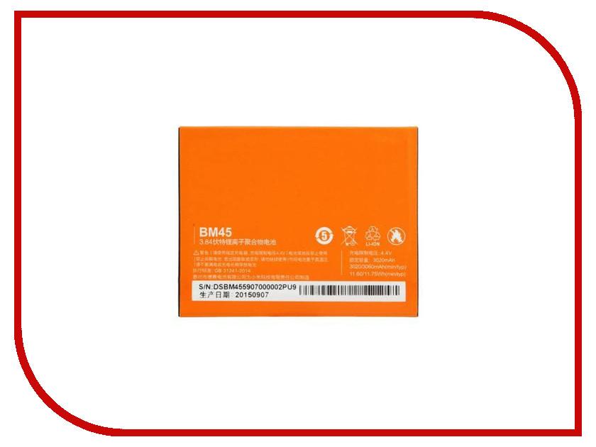 Аккумулятор Monitor для Xiaomi Redmi Note 2 BM45 2661 противоударное стекло для xiaomi redmi note 2 с олеофобным покрытием green cases 0 33 мм 2 5d