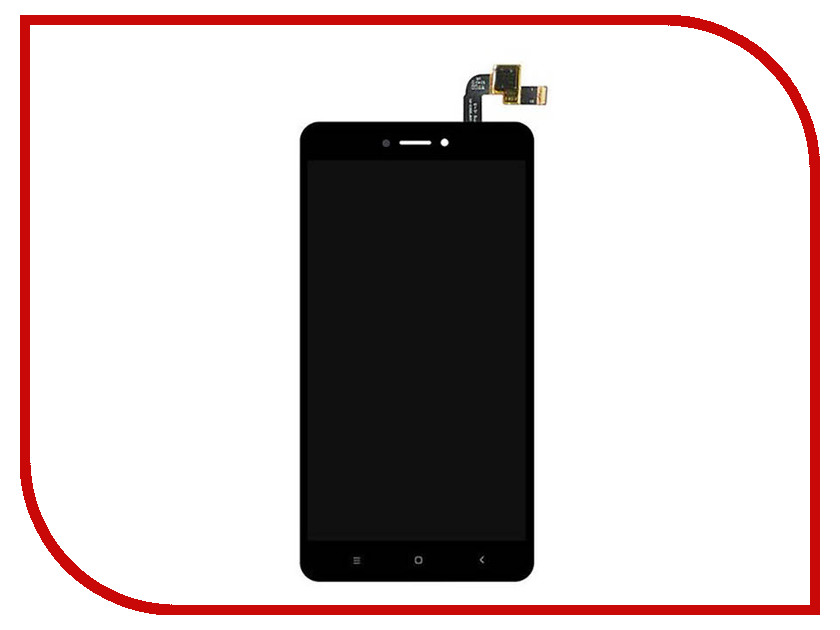 Дисплей Monitor для Xiaomi REDMI NOTE 4X Black 3262 official gloabl rom xiaomi redmi note 4x 4g 64gb smartphone black