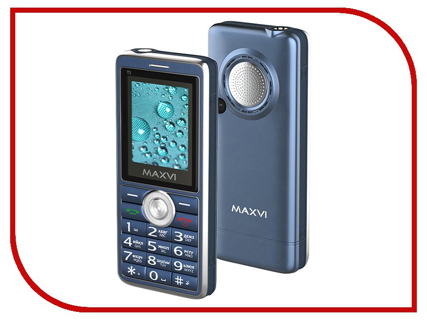 Сотовый телефон MAXVI T3 Marengo сотовый телефон maxvi k17 marengo black