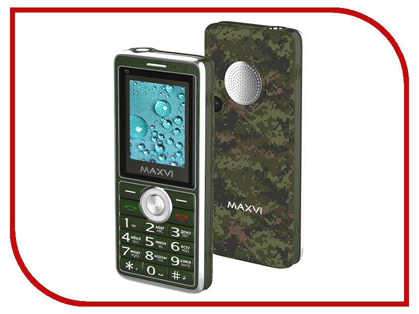 Фото - Сотовый телефон MAXVI T3 Military проводной и dect телефон foreign products vtech ds6671 3