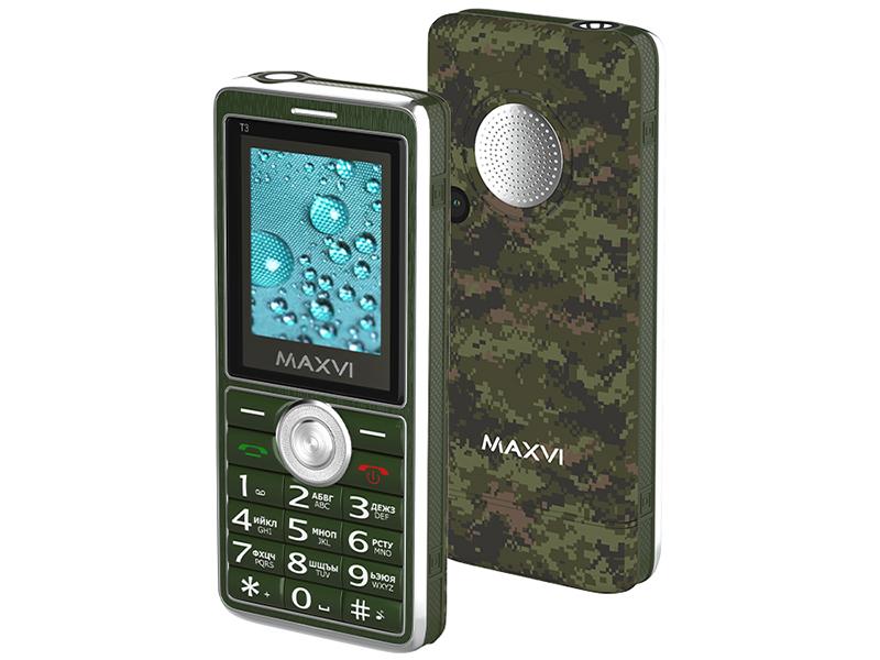 Сотовый телефон MAXVI T3 Military телефон
