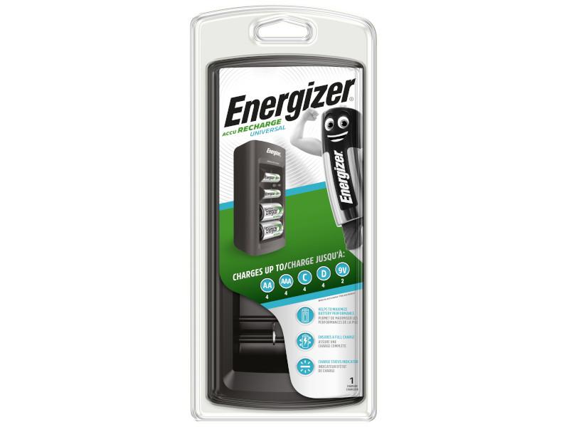 Зарядное устройство Energizer Accu Recharge Universal EMG929872