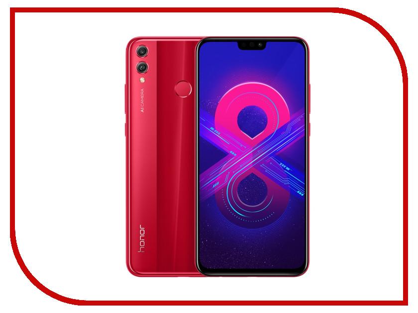 Сотовый телефон Honor 8X 4/64GB Red