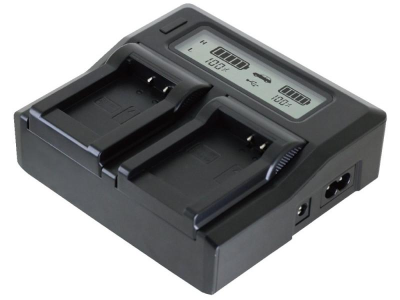Зарядное устройство Relato ABC02/VBN с автомобильным адаптером для Panasonic VBN130/VBN260 зарядное устройство relato abc02 enel14 с автомобильным адаптером для nikon en el14