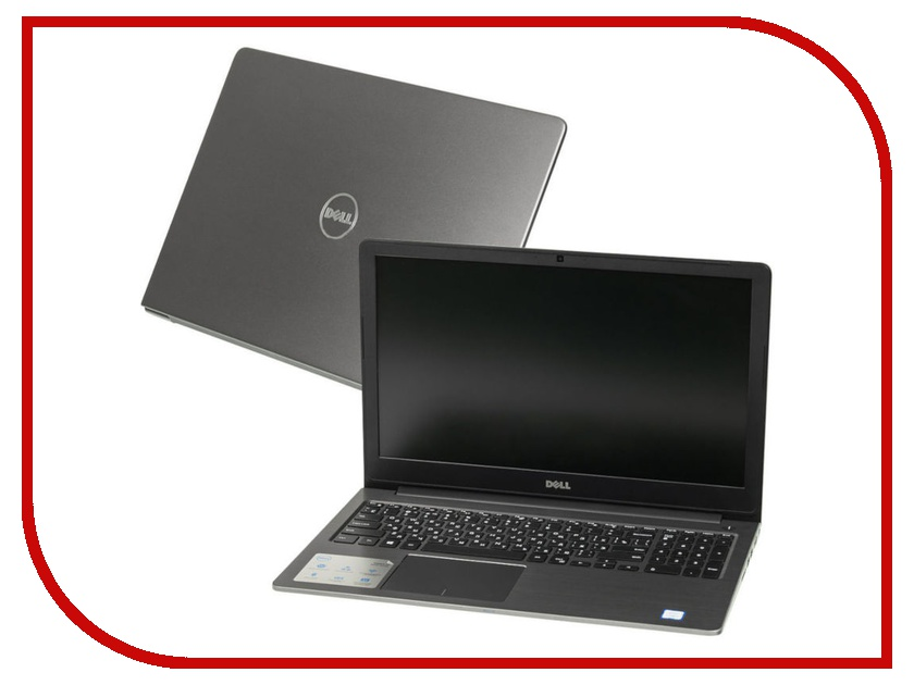 Ноутбук Dell Vostro 5568 5568-3049 Grey (Intel Core i3-6006U 2.0 GHz/8192Mb/256Gb SSD/Intel HD Graphics/Wi-Fi/Cam/15.6/1920x1080/Linux) ноутбук dell vostro 5568 0320 grey backlit nbdwarranty
