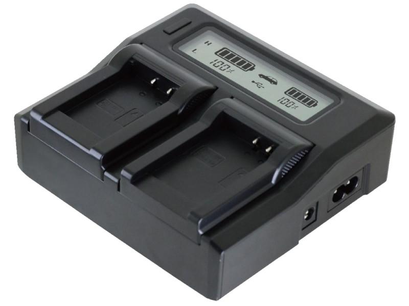 Зарядное устройство Relato ABC02/BP808 с автомобильным адаптером для Canon BP-808/809/819/820/827/828