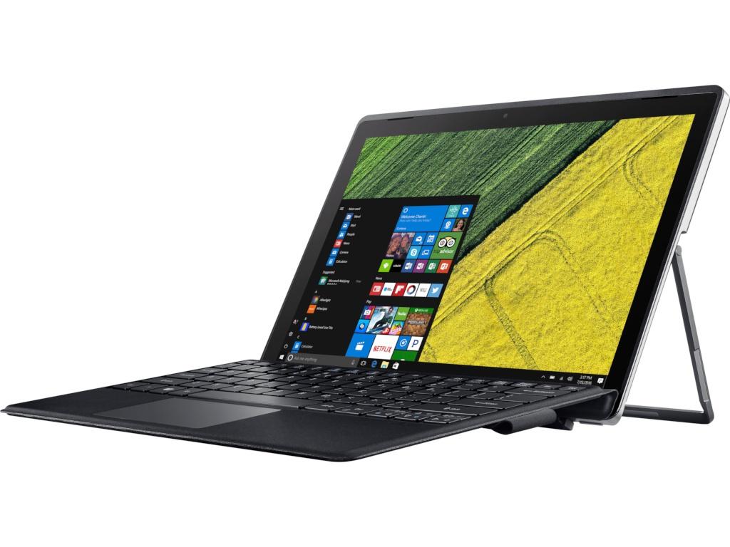 Ноутбук Acer Switch 3 SW312-31-P8D2 NT.LDRER.001 Iron Black (Intel Pentium N4200 1.1 GHz/4096Mb/128Gb SSD/No ODD/Intel HD Graphics/Wi-Fi/Bluetooth/Cam/12.2/920x1200/Windows 10 64-bit) acer acer aspire switch alpha 12 wi fi