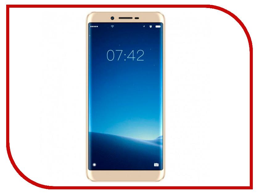 Сотовый телефон DOOGEE X60 Champagne Gold сотовый телефон elari nanophone c gold