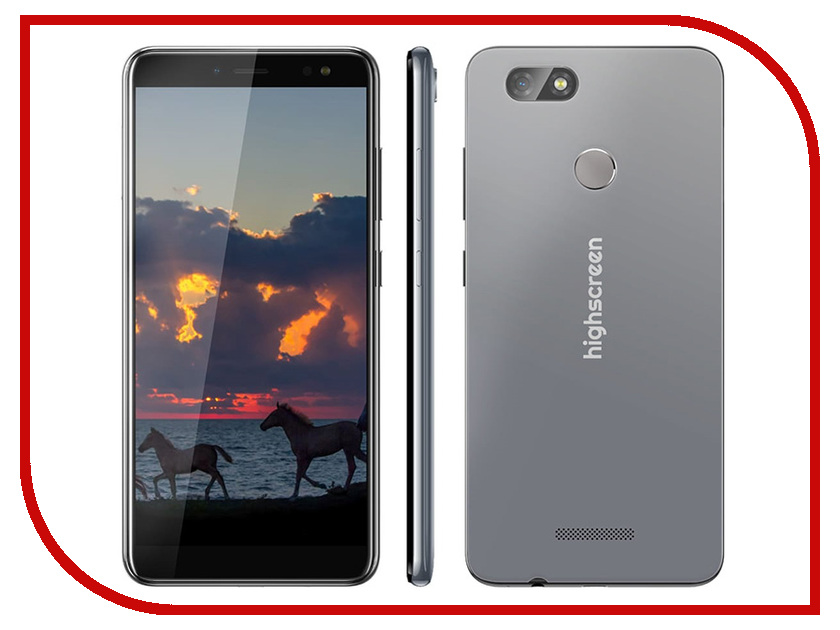 Сотовый телефон Highscreen Expanse Grey смартфон highscreen fest orange