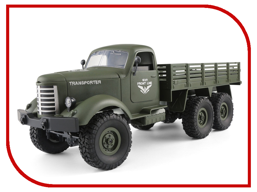 Игрушка JJRC Q60 6WD RC Off-Road Military Truck