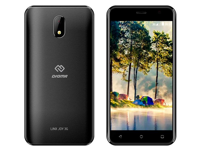 Сотовый телефон Digma LINX JOY 3G Black