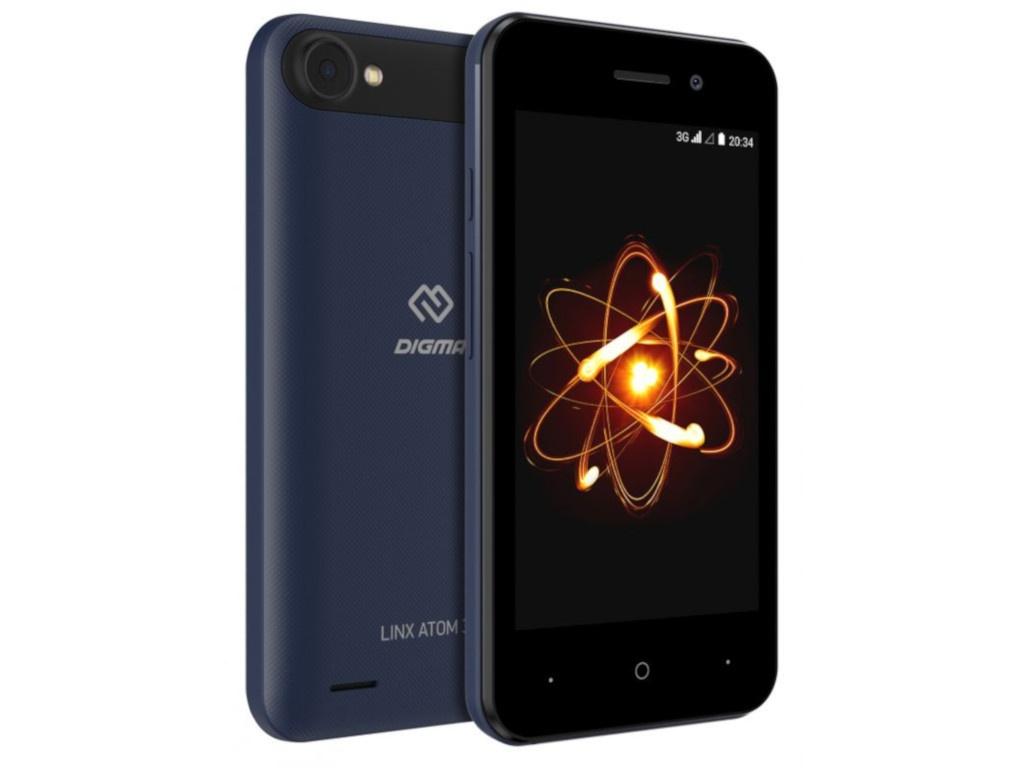 Сотовый телефон DIGMA LINX ATOM 3G Dark Blue