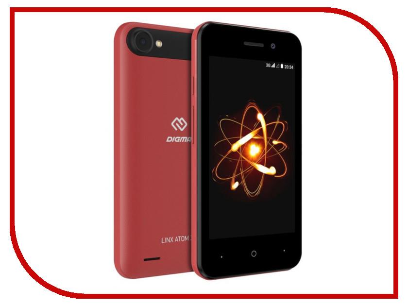 Сотовый телефон Digma LINX ATOM 3G Red