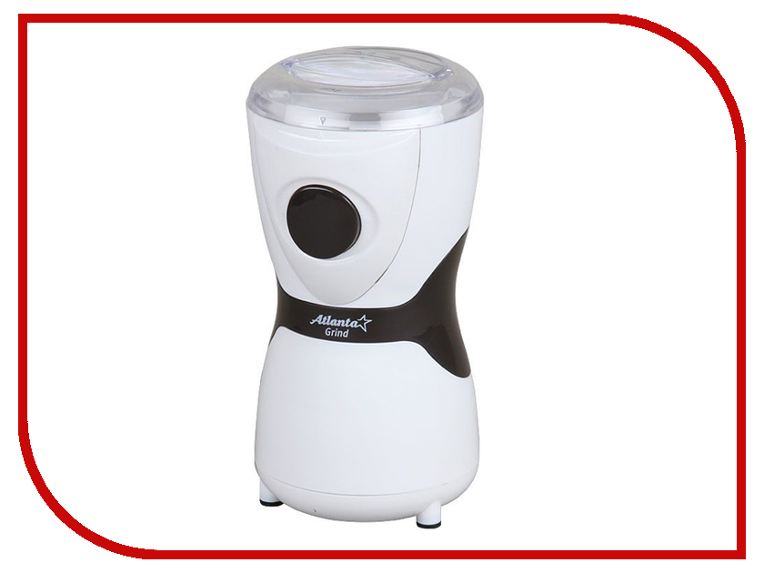 Кофемолка Atlanta ATH-3395 White кофемолка atlanta ath 3391 коричневый