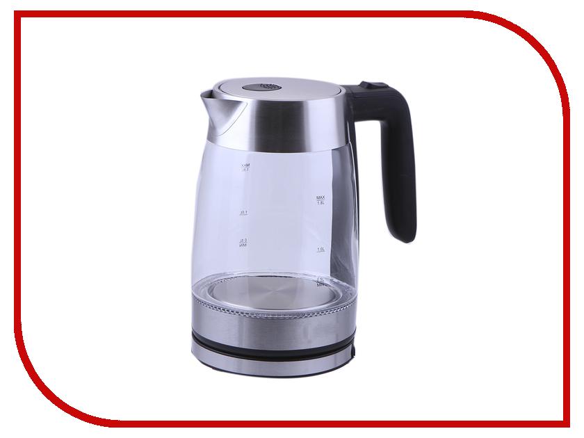 Чайник Kitfort KT-641 Black-Silver чайник kitfort kt 637
